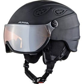 Alpina Grap Visor 2.0 HM Casque de ski, black matt